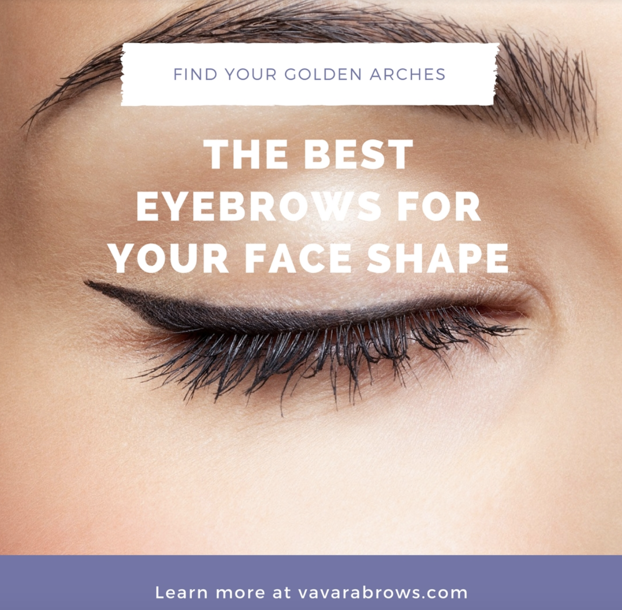 Find The Best Eyebrow Shape For Your Face Shape